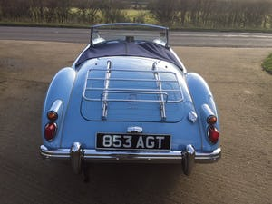 1960 A LOVELY ORIGINAL RHD MGA 1600 ROADSTER IN  RARE IRIS BLUE! For Sale (picture 6 of 10)
