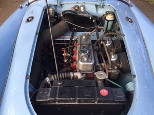 1960 A LOVELY ORIGINAL RHD MGA 1600 ROADSTER IN  RARE IRIS BLUE! For Sale (picture 9 of 10)