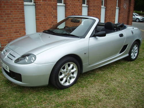 2003 MG TF 1.6 16v Hard Top & Soft Top 64000 miles FSH For Sale (picture 1 of 6)