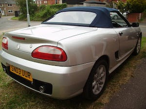 2003 MG TF 1.6 16v Hard Top & Soft Top 64000 miles FSH For Sale (picture 3 of 6)