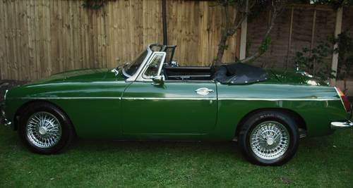 1973 MGB ROADSTER LEATHER TRIM For Sale (picture 2 of 6)