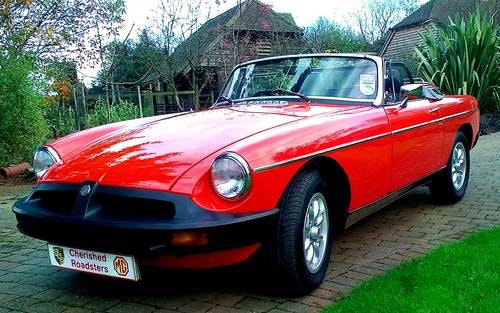 1979 Classic MGB Roadster:  - Christmas Gift Vouchers For Sale (picture 1 of 6)