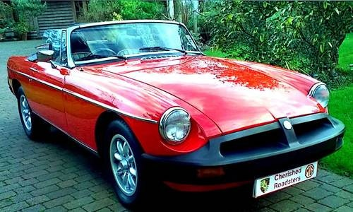 1979 Classic MGB Roadster:  - Christmas Gift Vouchers For Sale (picture 2 of 6)