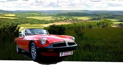 1979 Classic MGB Roadster:  - Christmas Gift Vouchers For Sale (picture 4 of 6)