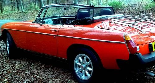 1979 Classic MGB Roadster:  - Christmas Gift Vouchers For Sale (picture 5 of 6)