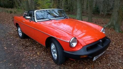 1979 Classic MGB Roadster:  - Christmas Gift Vouchers For Sale (picture 6 of 6)