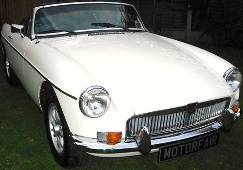 1978 MGB ROADSTER,RESTORED,LEATHER SEATS,ALLOY WHEELS,OVERDRIVE, For Sale (picture 1 of 6)