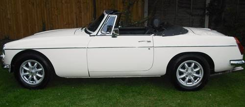 1978 MGB ROADSTER,RESTORED,LEATHER SEATS,ALLOY WHEELS,OVERDRIVE, For Sale (picture 2 of 6)