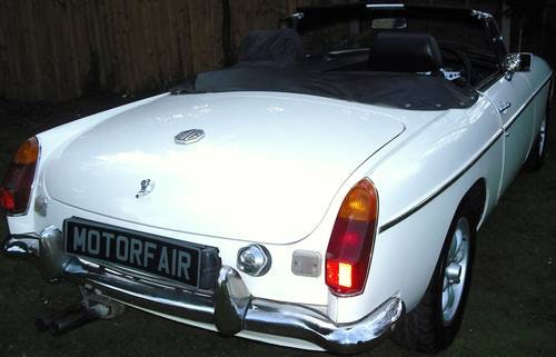 1978 MGB ROADSTER,RESTORED,LEATHER SEATS,ALLOY WHEELS,OVERDRIVE, For Sale (picture 3 of 6)