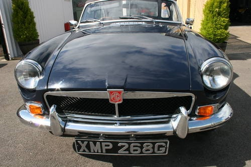 1969 MGB HERITAGE SHELL IN MIDNIGHT BLUE,  SOLD (picture 5 of 5)