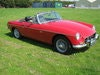 Picture of 1970 MGB ROADSTER IN TARTAN RED WITH WIRE WHEELS. SOLD