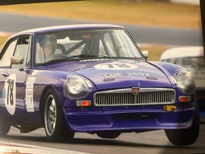 1979 MGB GT V8 Race Car For Sale (picture 1 of 7)