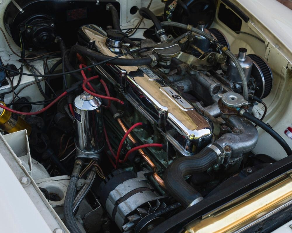 1968 MGC Roadster Old English White For Sale (picture 9 of 9)