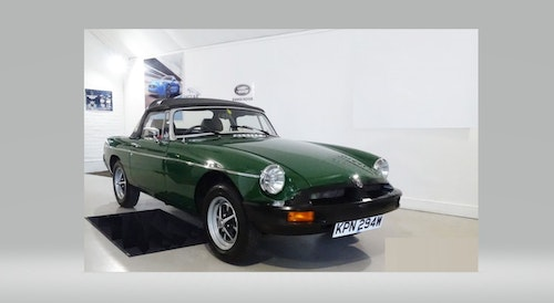 Picture of 1980 DELIVERY MILES MGB ROADSTER For Sale