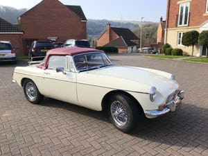 1969 Stunning example of MGB ROADSTER, Heritage Shell, 1800cc SOLD (picture 1 of 12)