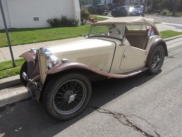 Picture of 1947 Mg tc  For Sale