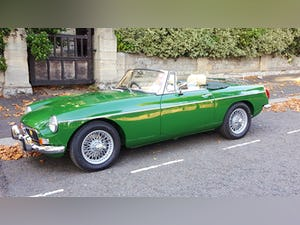 1973 Stunning British Racing Green MGB Roadster For Sale (picture 1 of 12)