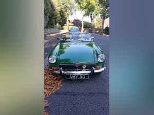 1973 Stunning British Racing Green MGB Roadster For Sale (picture 4 of 12)