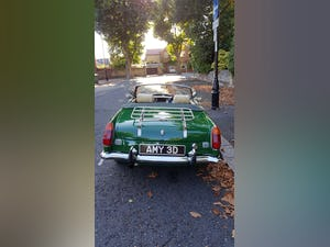 1973 Stunning British Racing Green MGB Roadster For Sale (picture 6 of 12)