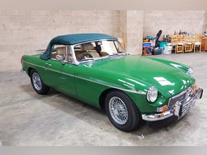 1973 Stunning British Racing Green MGB Roadster For Sale (picture 12 of 12)