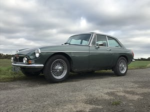 1974 MGB GT V8 rebuild on Heritage shell For Sale (picture 1 of 12)
