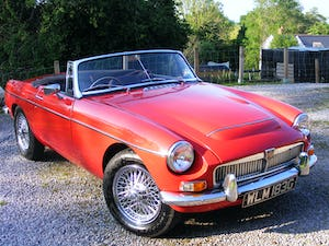 1968 MGC Roadster - fast road spec For Sale (picture 2 of 12)
