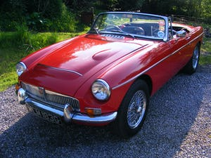1968 MGC Roadster - fast road spec For Sale (picture 9 of 12)