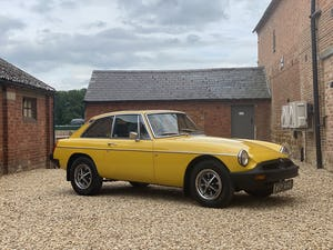 1978 MGB GT Manaul O/D. Lots of Money Spent 12 Months MOT For Sale (picture 1 of 12)