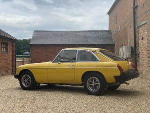 1978 MGB GT Manaul O/D. Lots of Money Spent 12 Months MOT For Sale (picture 5 of 12)