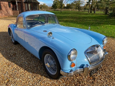 Picture of 1960 MGA 1600 Coupe Just £20,000 - £25,000 For Sale by Auction