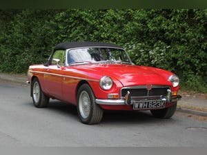 1972 MGB V8 Roadster Automatic - Uprated For Sale (picture 1 of 16)