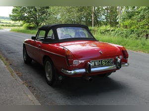 1972 MGB V8 Roadster Automatic - Uprated For Sale (picture 4 of 16)