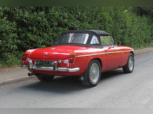 1972 MGB V8 Roadster Automatic - Uprated For Sale (picture 6 of 16)