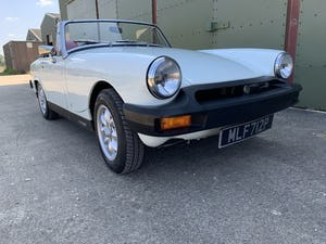 1975 MG Midget 1500cc in White with Red Leather For Sale (picture 1 of 12)