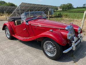 1954 MG TF, restored For Sale (picture 1 of 12)