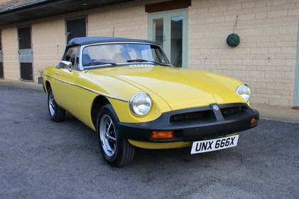 Picture of 1981 MG B ROADSTER (TWO OWNERS) For Sale