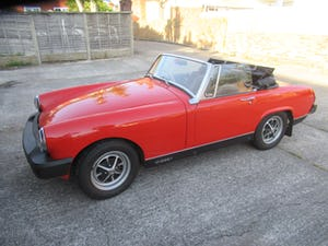 1975 Mot and Taxed exempt MG Midget For Sale (picture 1 of 11)