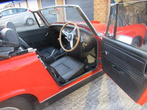 1975 Mot and Taxed exempt MG Midget For Sale (picture 8 of 11)