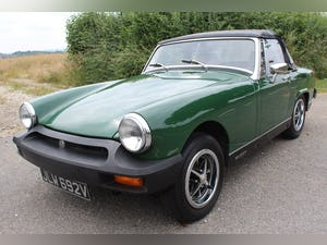 1979 MG Midget 1500 cc Open Two Seat Sports Car For Sale (picture 1 of 12)