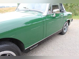 1979 MG Midget 1500 cc Open Two Seat Sports Car For Sale (picture 10 of 12)