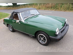 1979 MG Midget 1500 cc Open Two Seat Sports Car For Sale (picture 12 of 12)