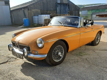 Picture of MGB ROADSTER 1972 - BRONZE YELLOW For Sale