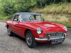 1968 MGC Roadster For Sale (picture 1 of 12)