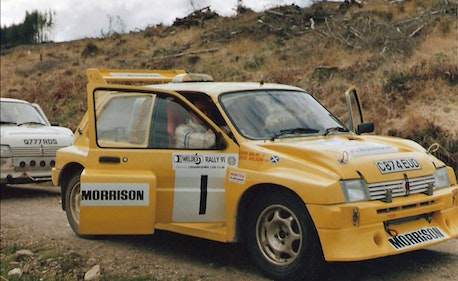Picture of 1985 MG Metro 6R4 genuine works car C874 EUD For Sale