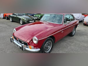 1975 Factory MGB GT V8 in Damask Red, 5 speed For Sale (picture 1 of 5)