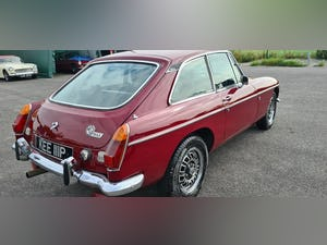 1975 Factory MGB GT V8 in Damask Red, 5 speed For Sale (picture 3 of 5)