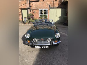 1972 British racing green MGB Roaster For Sale (picture 1 of 10)