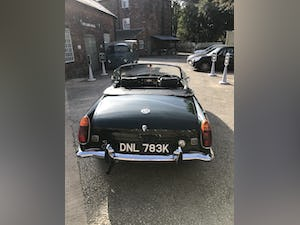 1972 British racing green MGB Roaster For Sale (picture 4 of 10)