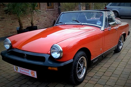 Picture of Stunning MG Midget - MG Midget Gift Vouchers For Sale