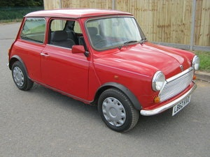 Picture of 1993 MINI MAYFAIR AUTOMATIC. 1275 cc. BRIGHT RED STUNNER  SOLD